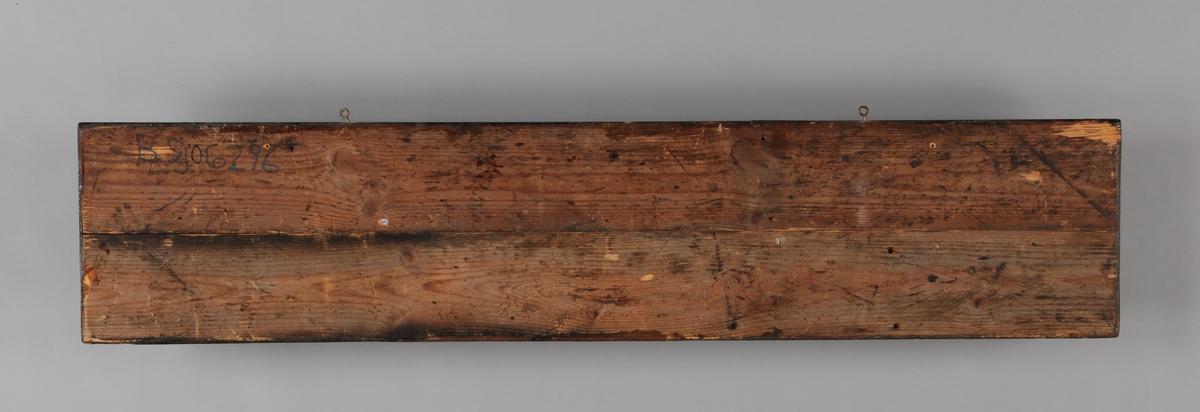 Halvmodell av jernseilskip CONDOR, bg. 1861 av Bristol.
