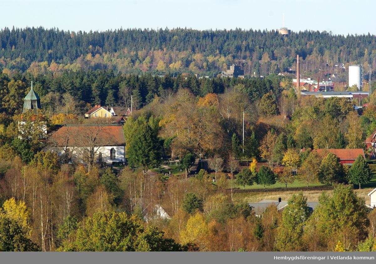 Vy över Bäckseda 9 oktober 2007