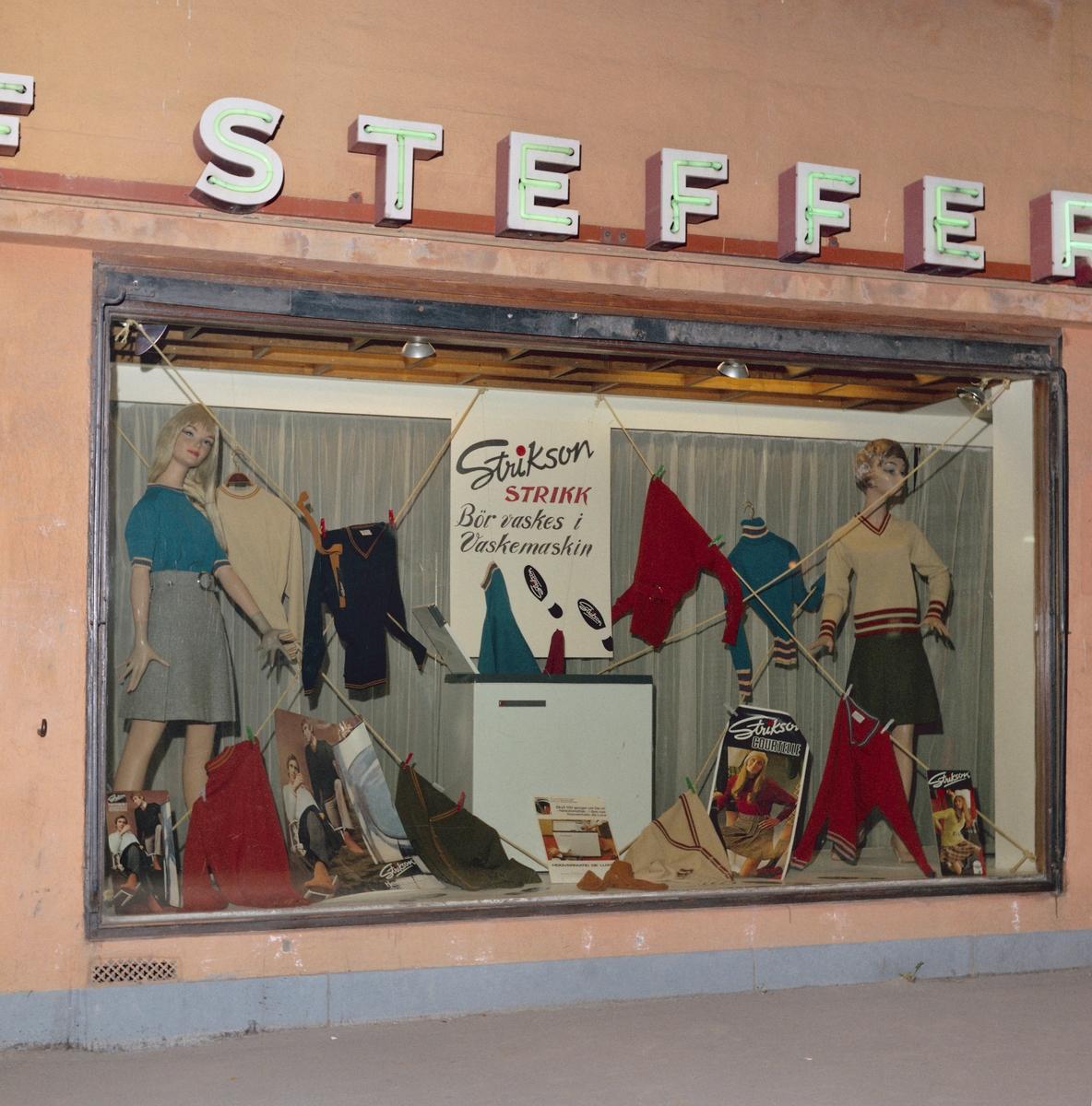 Butikkvinduer hos Stefferud på Strømmen