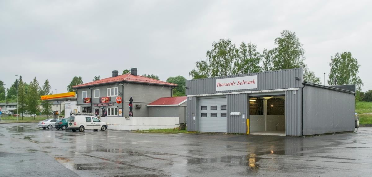 Shell bensinstasjon Eidsvollvegen Vormsund Nes