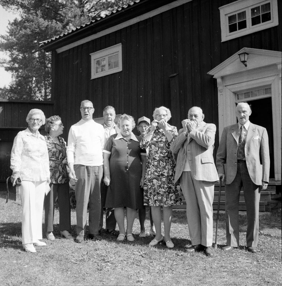 Fornhemmet, Bussresenärer, Gösta Gigg, Augusti 1973