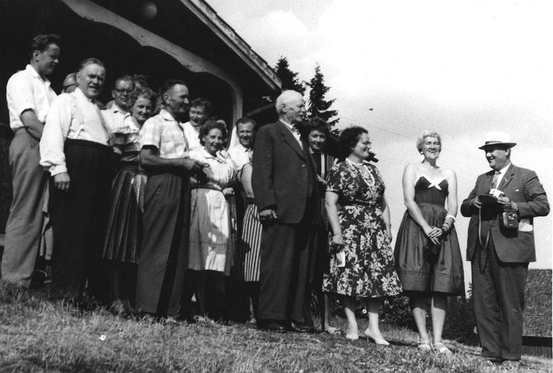 Fr.h: Bror Finneskog, Patsy Åström, Salme Hintikka, Eeva-Liisa Oinonen, Nittaho-Jussi.