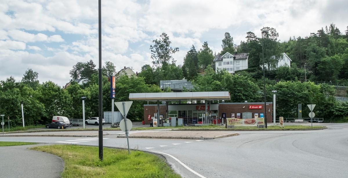 YX bensinstasjon Slependveien Slependen Asker