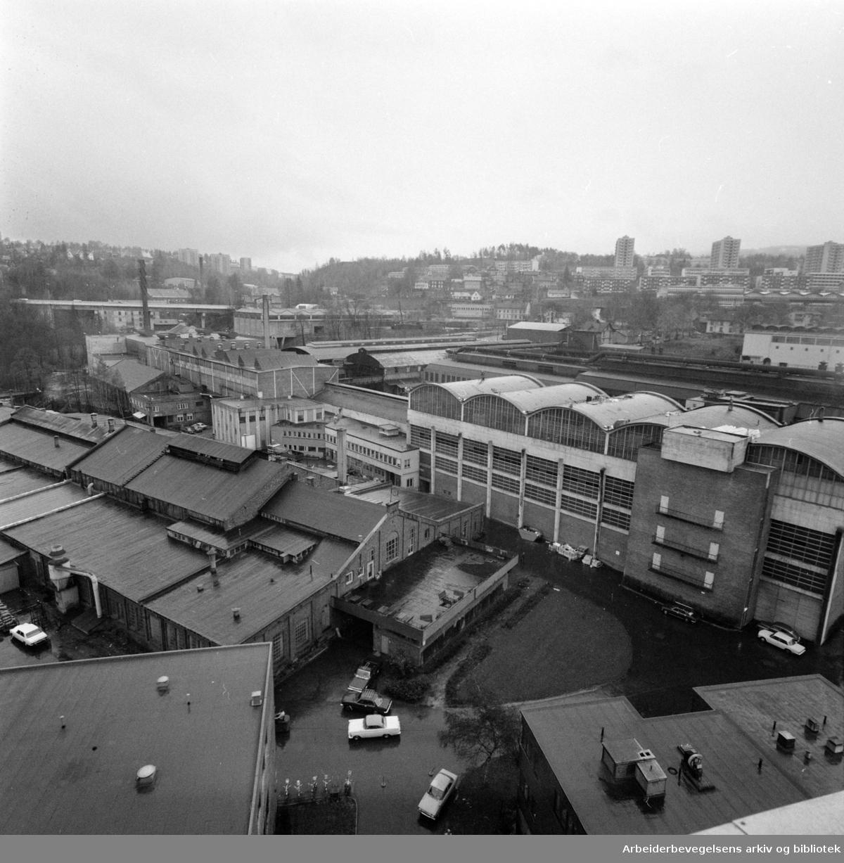 Spigerverket. November 1976