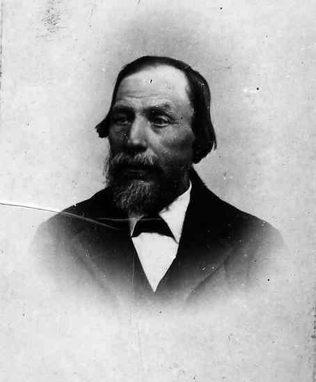 Sveriges förste rälsläggare Sigfrid Andersson f 1828 i Västra Mellanstugan, Långsjöhöjden