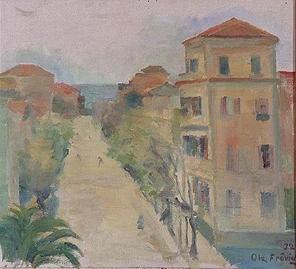 Italiensk skisse [Maleri]
