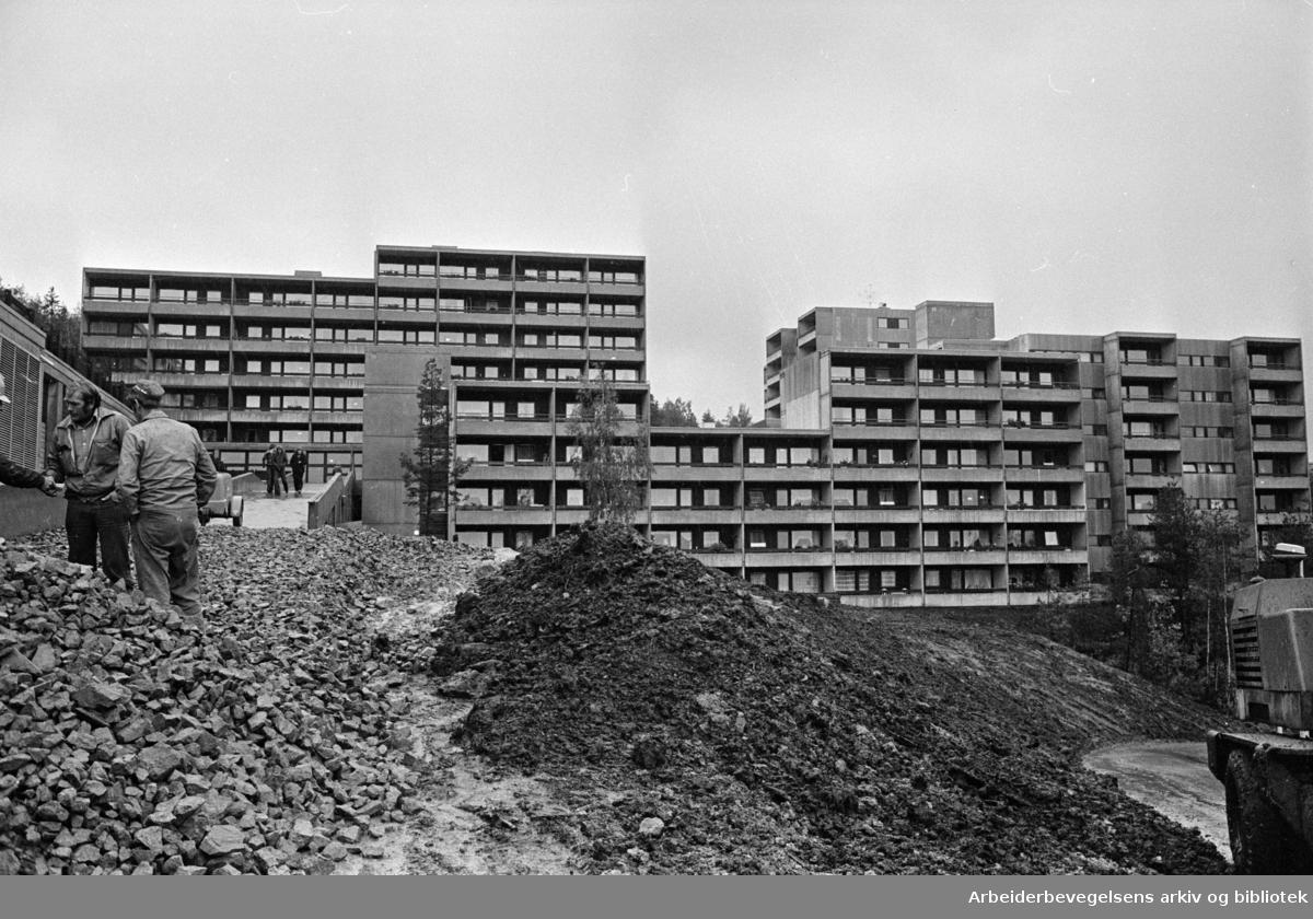 Romsås. Oktober 1975