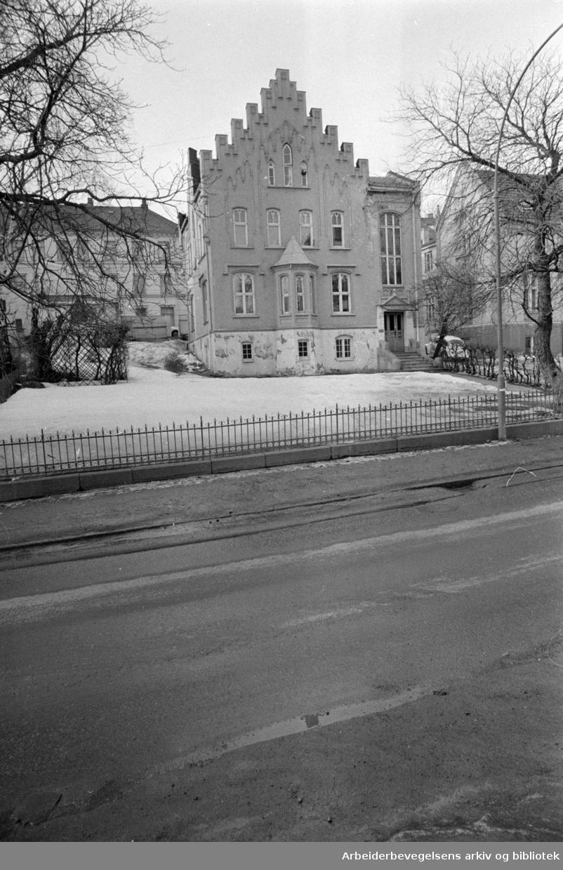 Josefinesgate nr. 9. Mars 1969