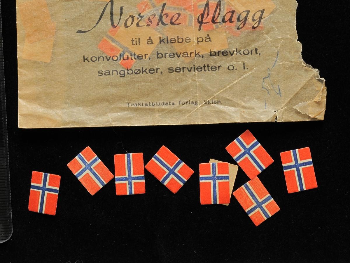 Norske flagg.