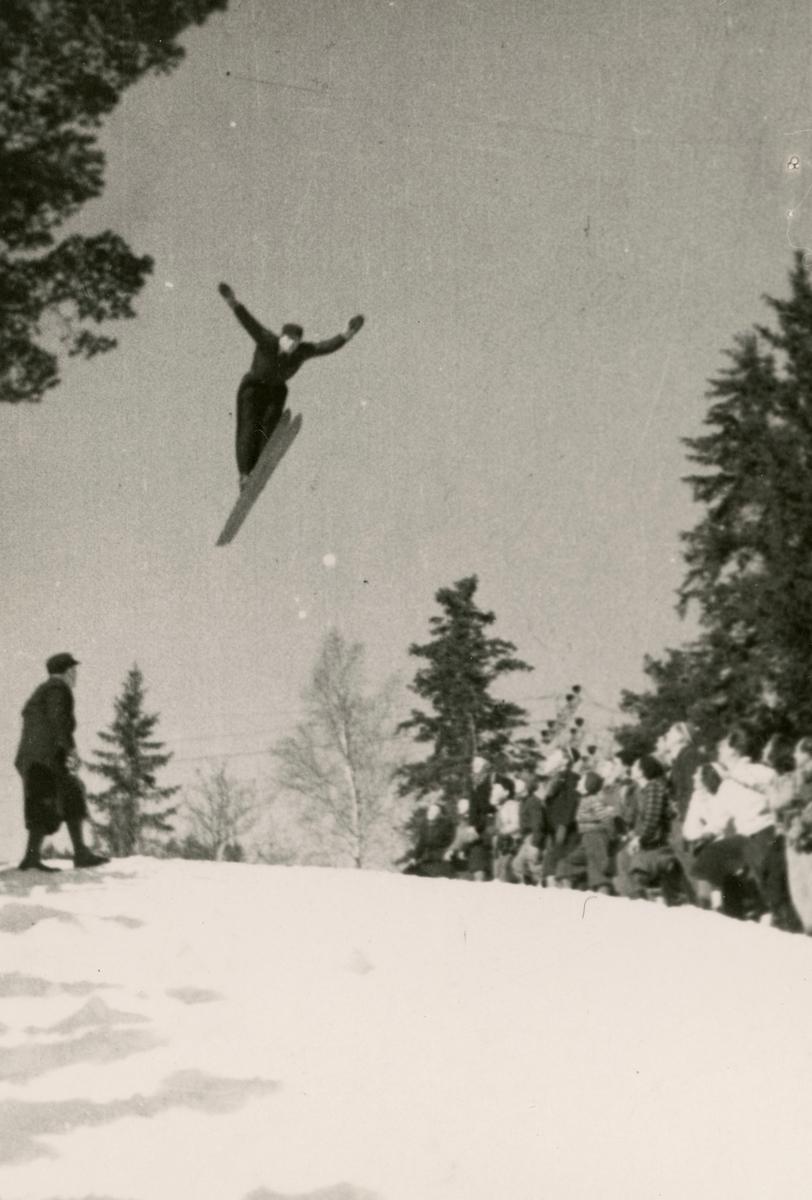 Athlete Hans Beck from Kongsberg
