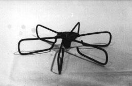 Form: Seks strenger i vifteform