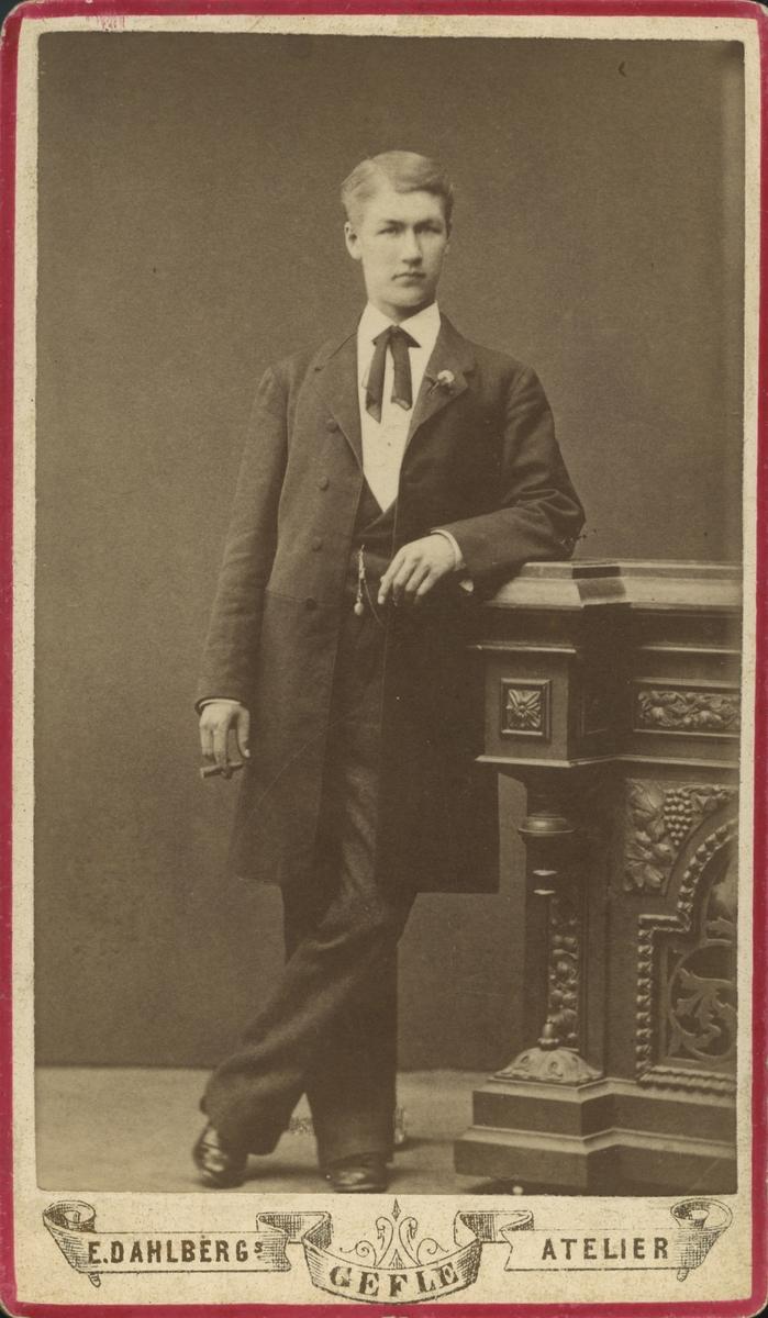 Axel Wikman. Inspektor.
