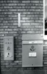 Dokumentation av postkontoret Halmstad 2, Badhusgatan 4, Hal