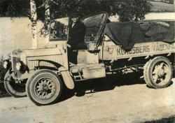 Lastebil KV`s første. Her er KV`s første lastebil. Innkjøpt
