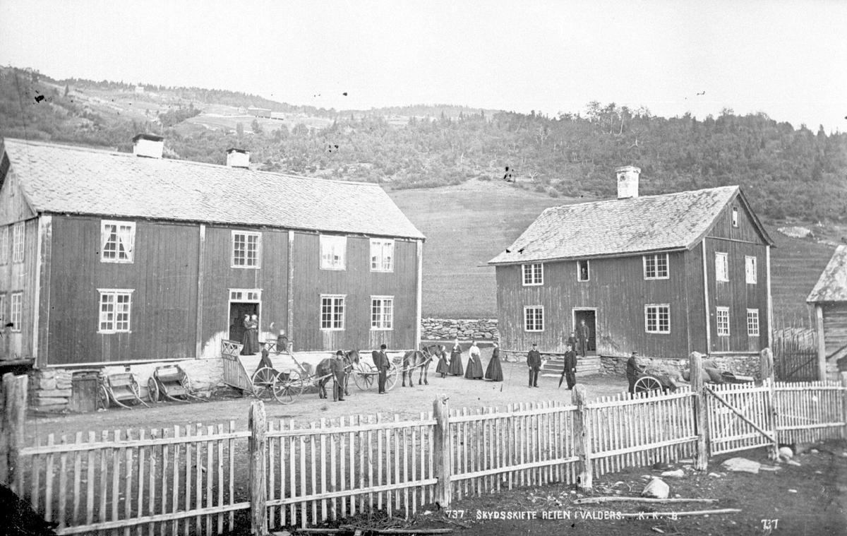 Skydsskifte Reien i Valdres før 1886.