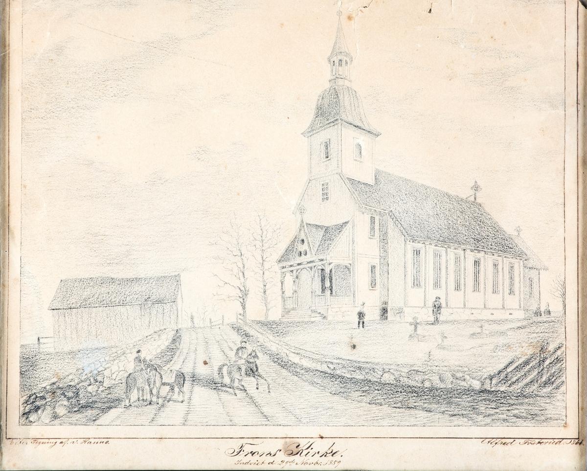 Froen (Frogn) kirke