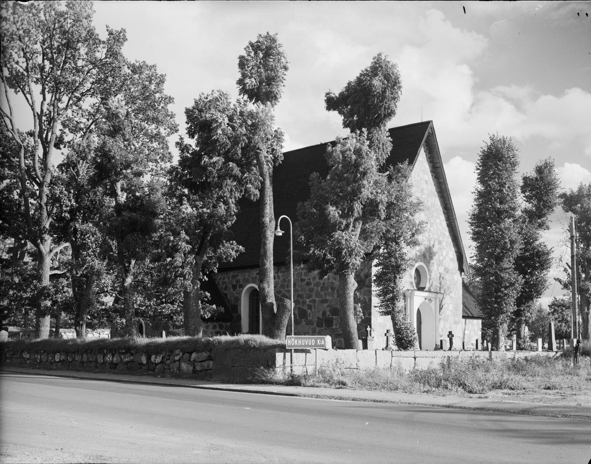 Hökhuvuds kyrka, Östhammar, Uppland