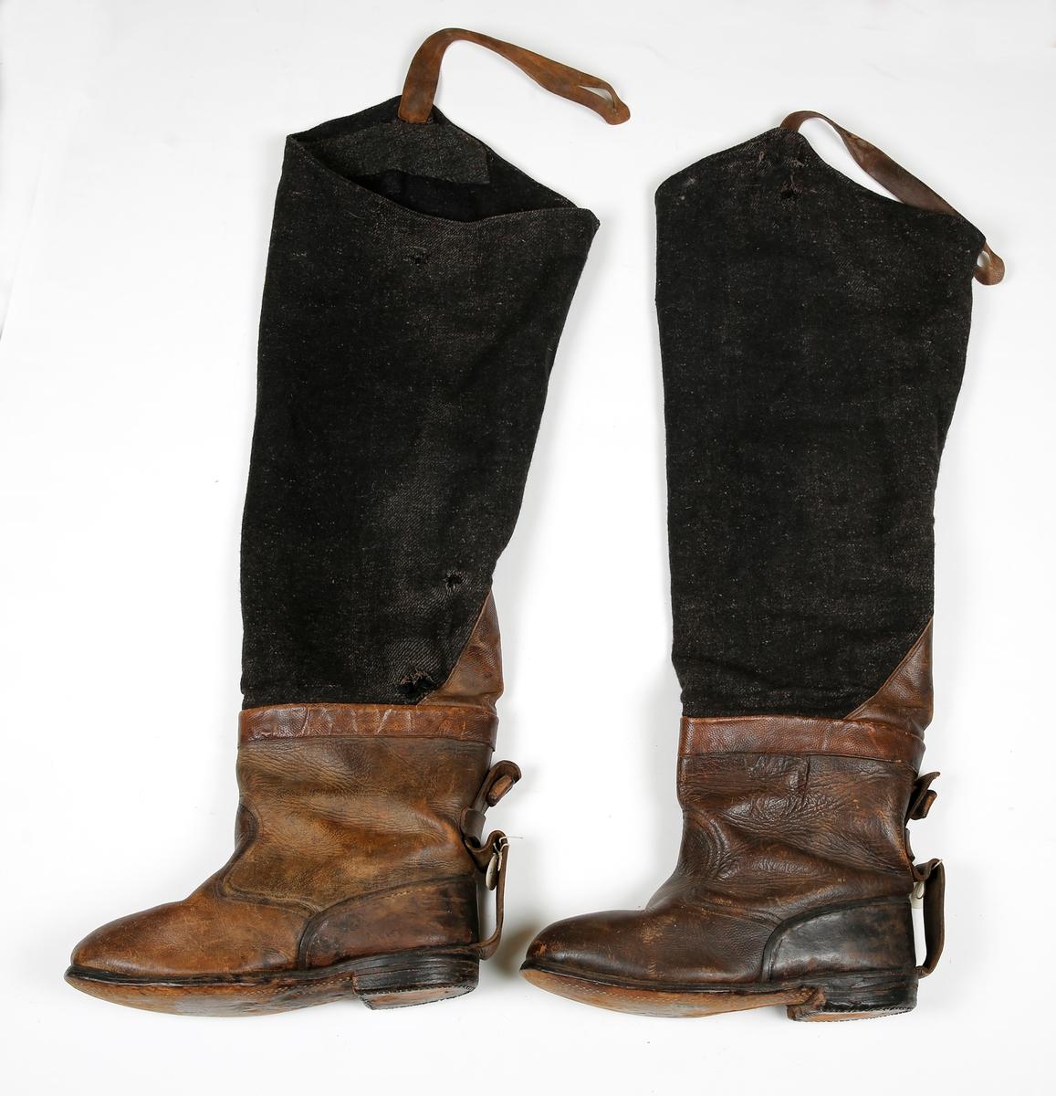 Støvler,offiser Anno Glomdalsmuseet DigitaltMuseum