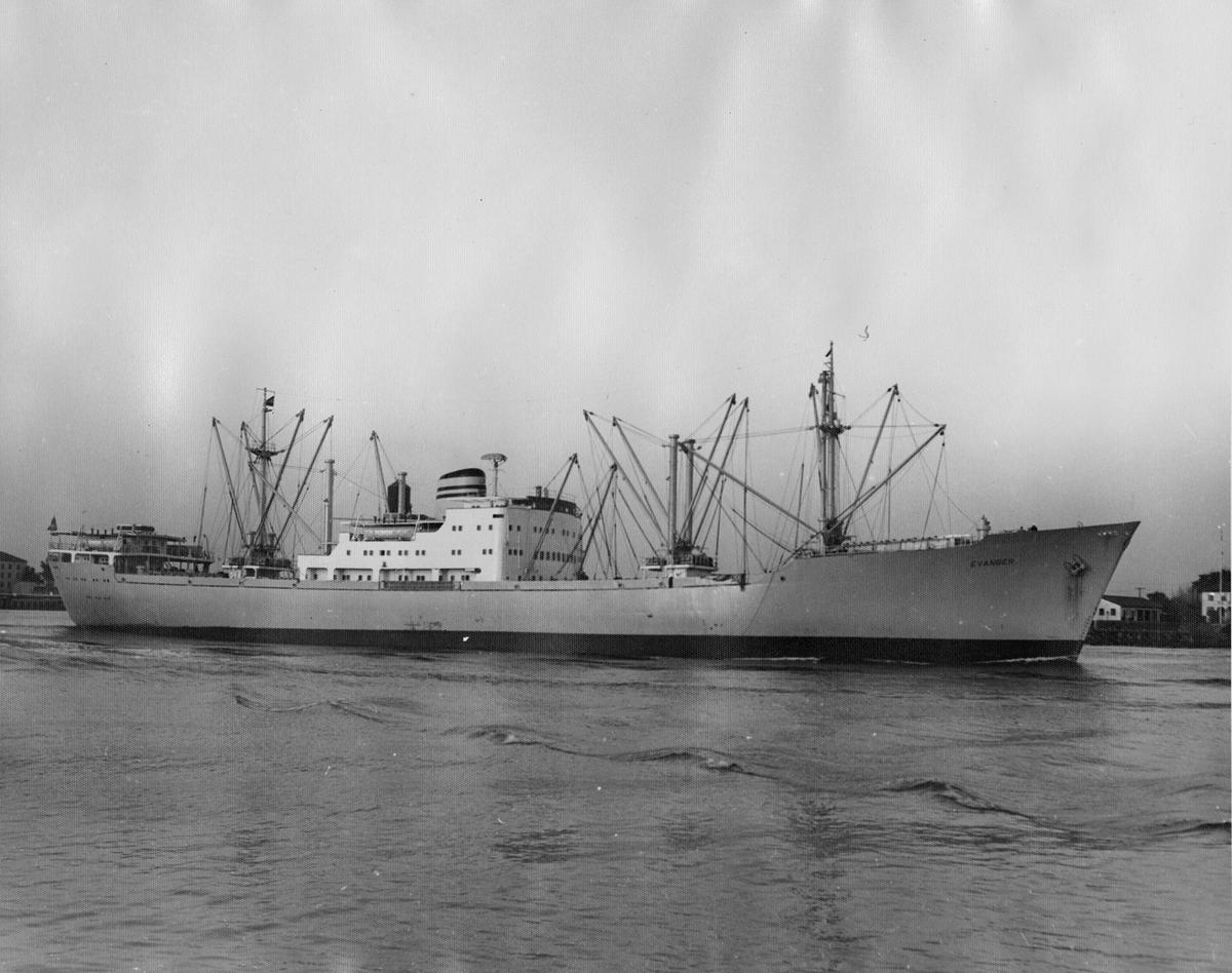 MS EVANGER (bygget 1955)