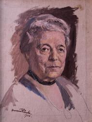 Selma Lagerlöf [Oljemålning]