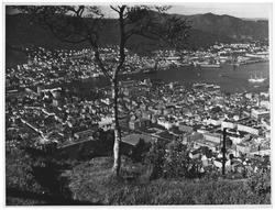 Bergen fra Fløien