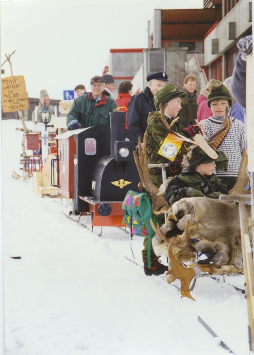 Nordvesten 1995. Sparktog