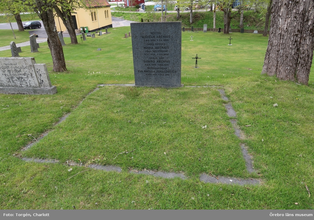 Inventering av kulturhistoriskt värdefulla gravvårdar i samband med upprättade av vård- och underhållsplan för Ramsbergs gamla kyrkogård, avseende kulturhistoriska värden.
