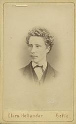 Robert Bäcklin, 1870.