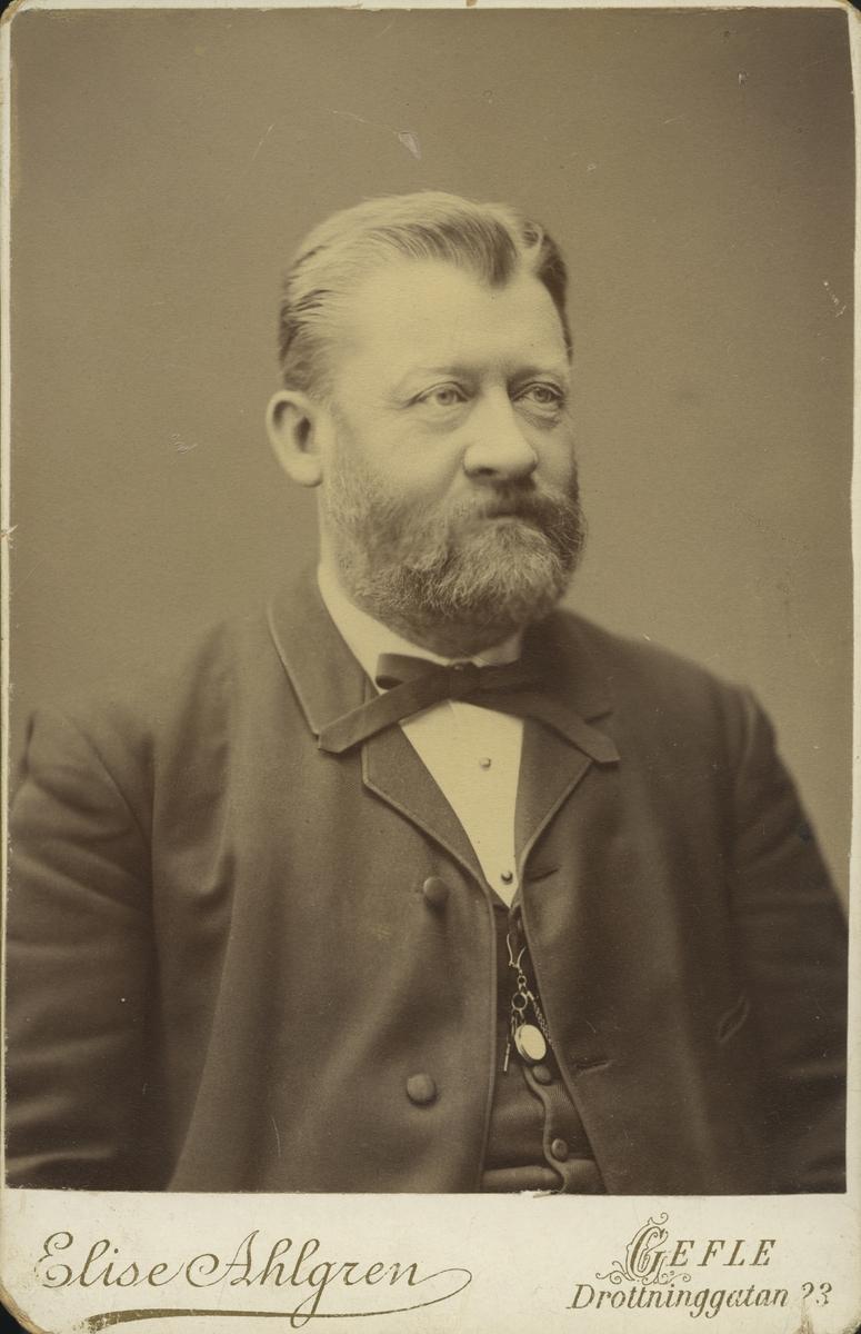 Hamnkapten Allan Theodor de Jounge.