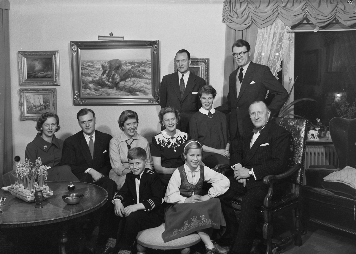Advokat Gudde med familie