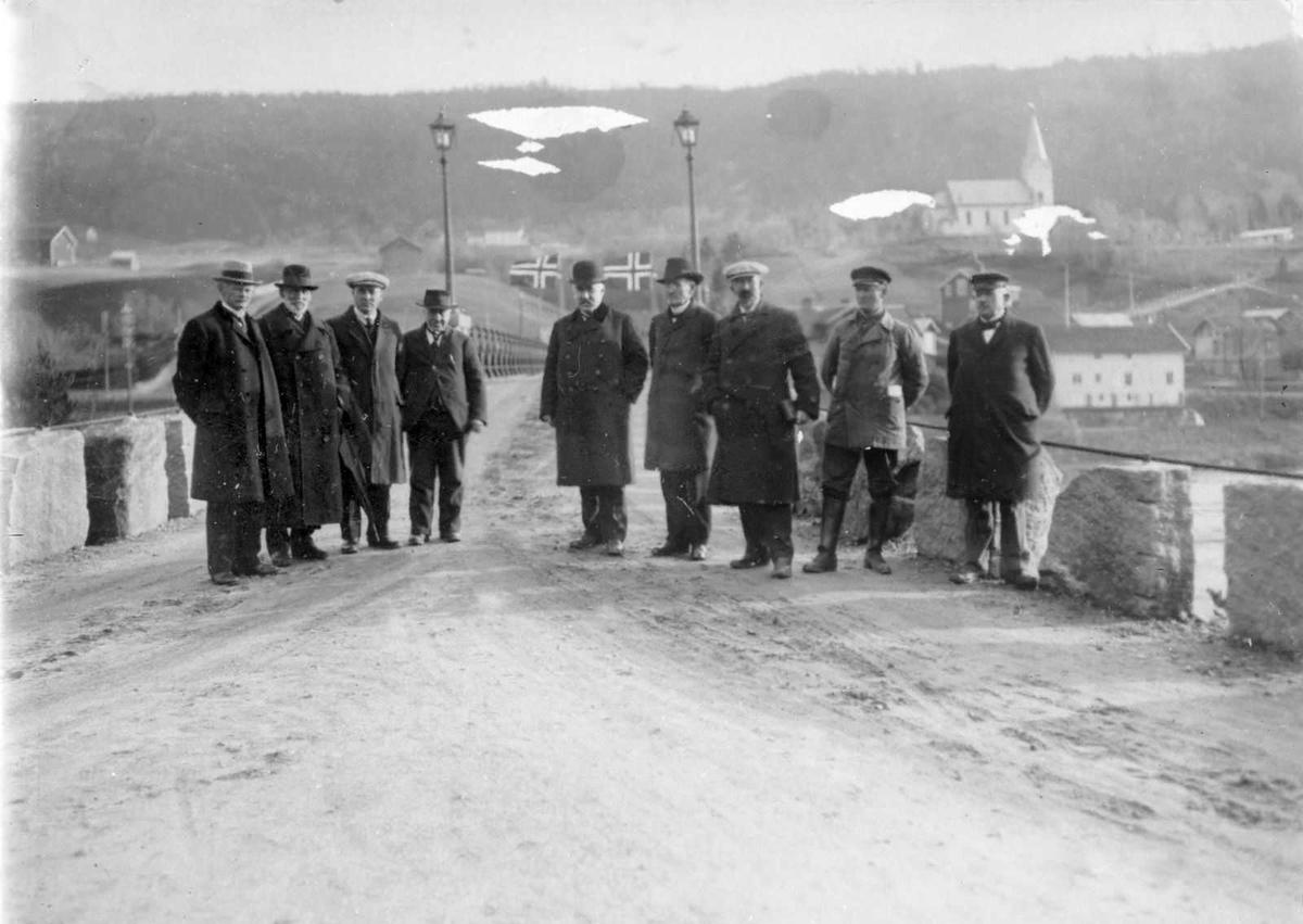 Åmlibilder samlet av Åmli historielag Befaring av hovedanleggsveien Dølemo-Nergaarden