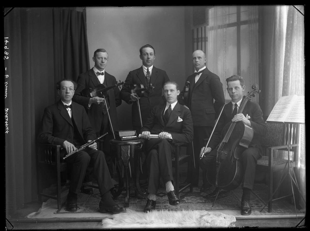 6 manns orkestergruppe