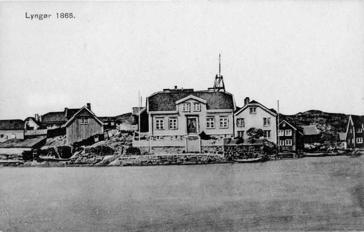 Husene på Odden, Lyngør