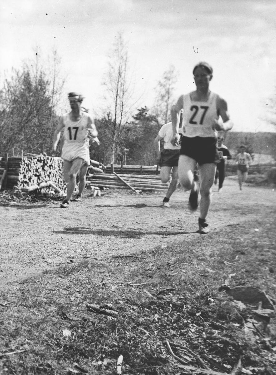 Dragsjøen rundt.Kretsmesterskapet 1953.
