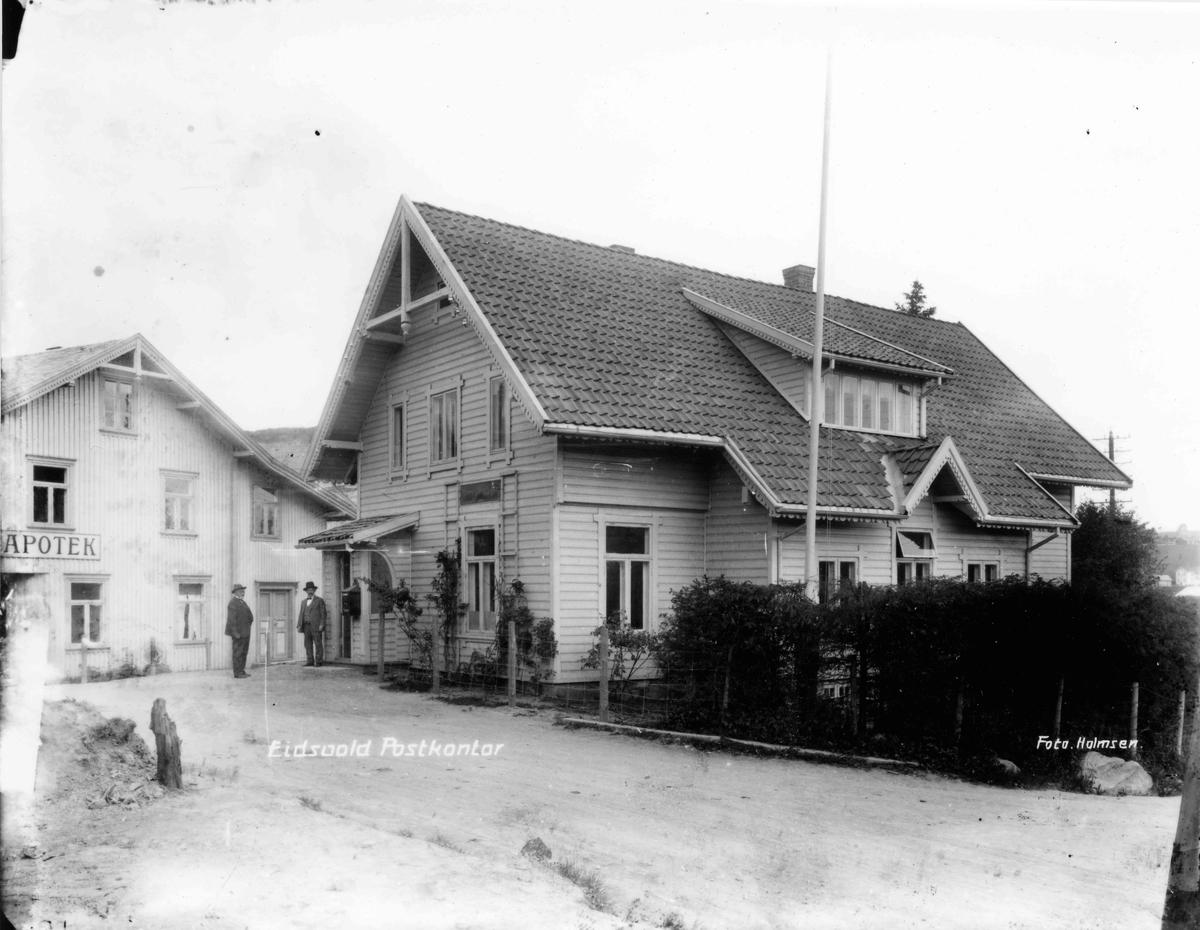 Eidsvoll Apotek og Eidsvoll Postkontor
