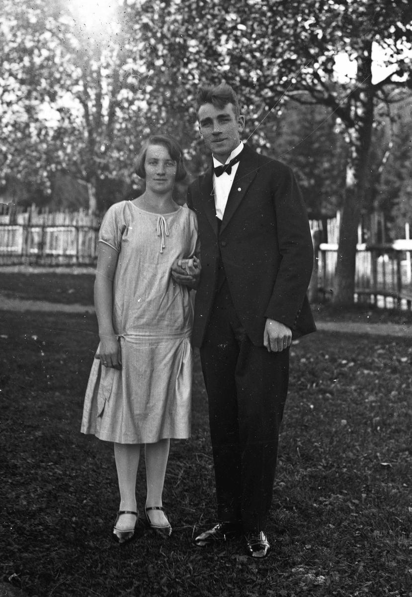 Portrett. Mann og kvinne