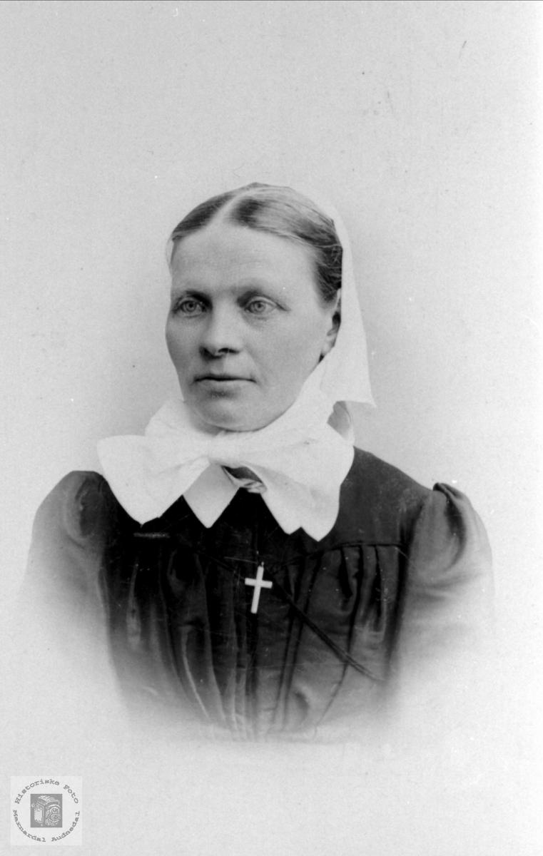 Portrett av Marie Føreid.