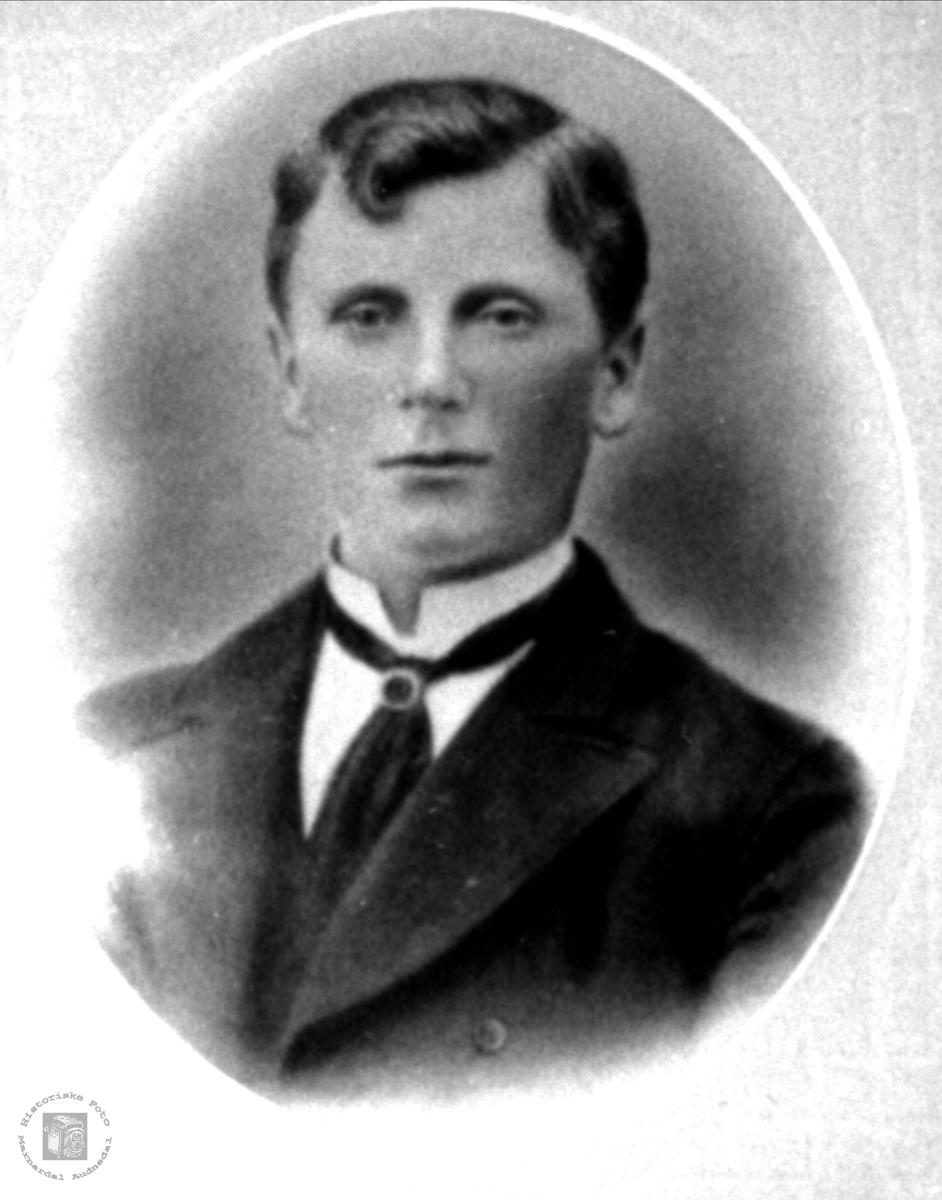 Portrett av Ånen Koland, Laudal.