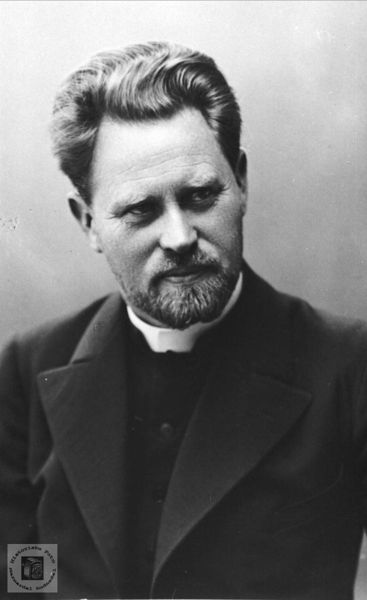 Portrett av Teodor Finsdal, Øyslebø.