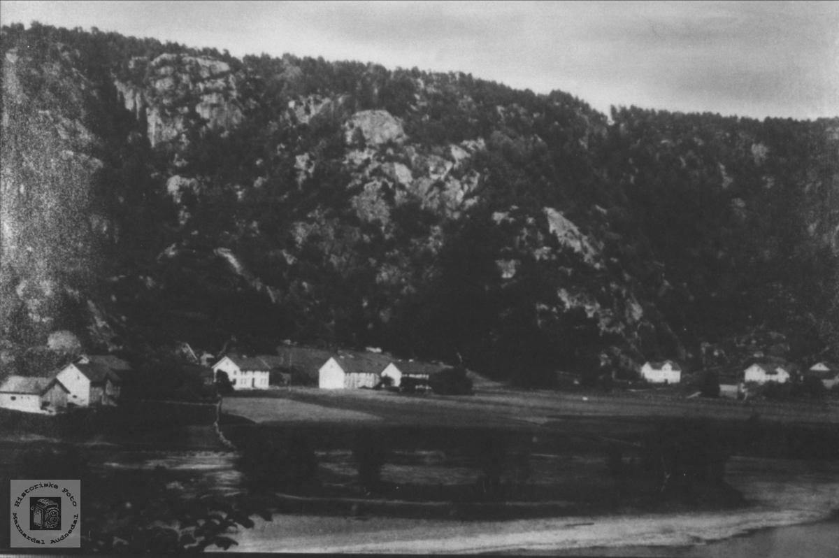 Usland i Øyslebø.