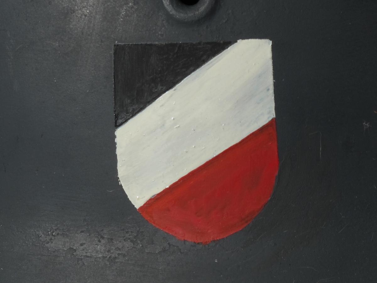 Tysk hjelm fra 2. verdenskrig.