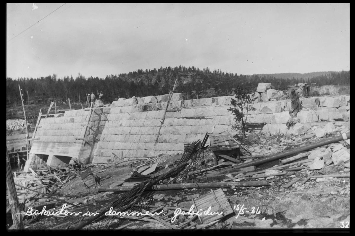 Arendal Fossekompani i begynnelsen av 1900-tallet CD merket 0468, Bilde: 26 Sted: Flaten Beskrivelse: Damkropp