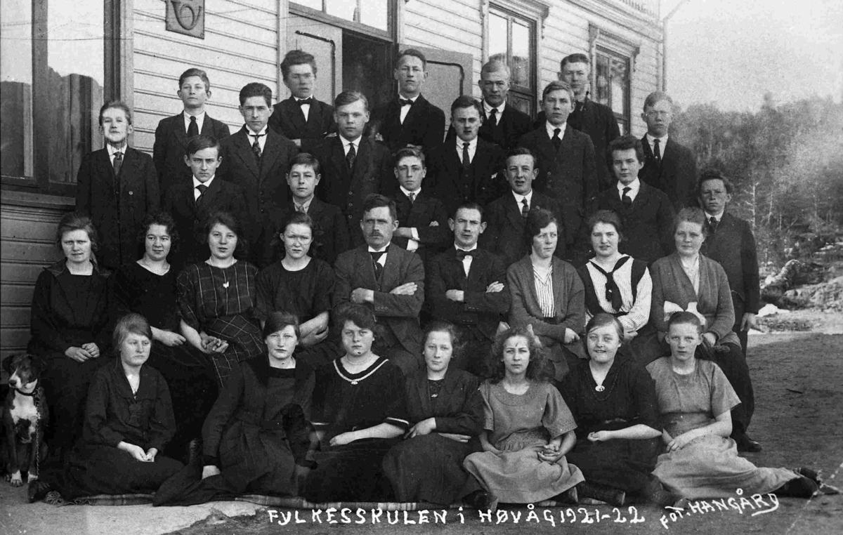 Fylkesskulen i Høvåg