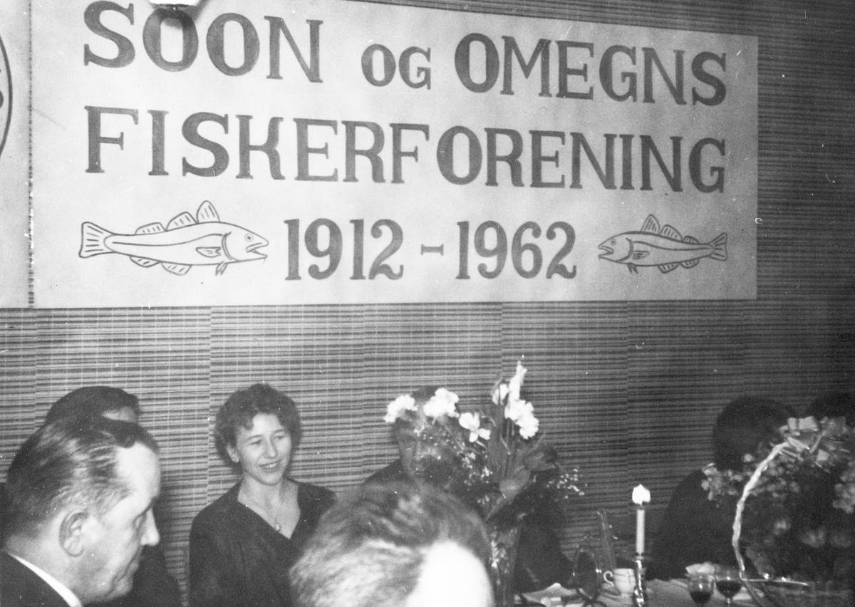 Middags selskapfor Soon og Omegns fiskeforening.