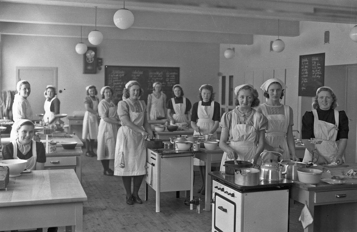 Skolekjøkken.