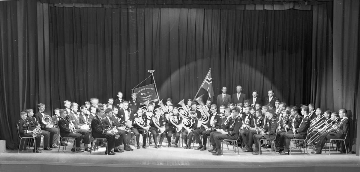 Vilberg skoles guttekorps 1963.