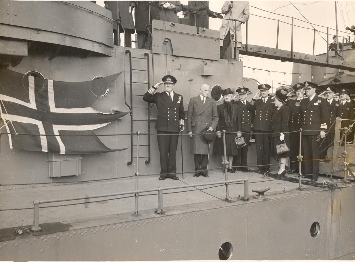 C-kl jageren KNM Stavanger overtagelse.