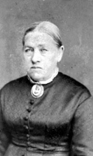 PORTRETT: OLEA HAFSAL, FØDT: 1822, SKRAMSTAD