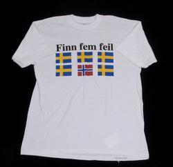 finn fem feil T skjorte for menn | Klesgaver